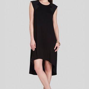 BCBGMAXAZRIA Demi Contrast-Sleeve Detailed Dress